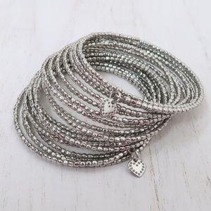 Stella and Dot Slinky Wrap Spiral Bracelet